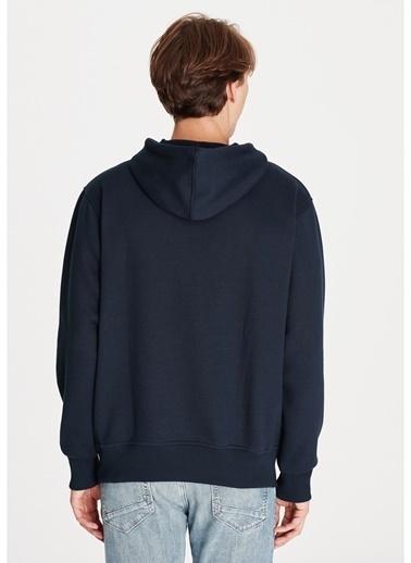 Mavi Mavi Kapüşonlu Sweatshirt Lacivert
